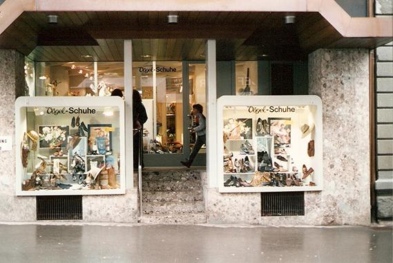 Schuh Vögel Außenansicht1987