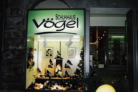 Schuh Vögel Außenansicht 1996