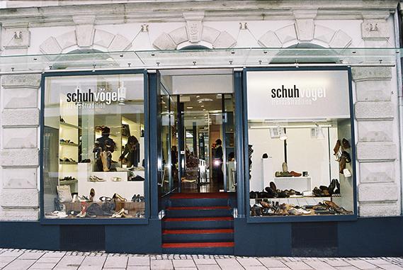 Schuh Vögel Außenansicht 2007