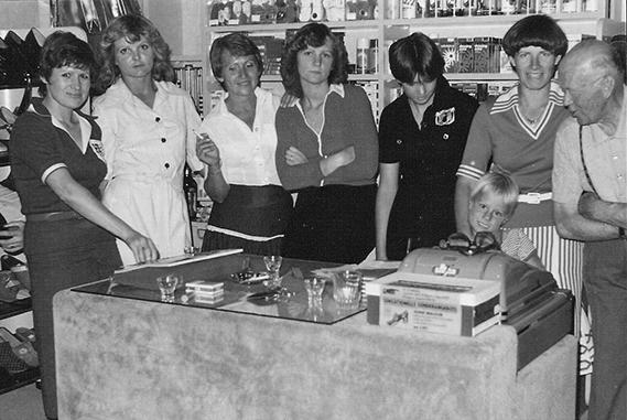 Gruppenfoto Schuh Vögel 1966