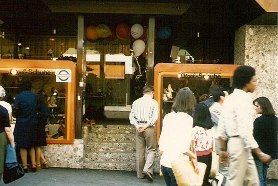Schuh Vögel Außenansicht 1973