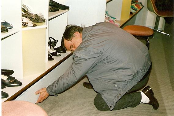 Schuh Vögel 1987