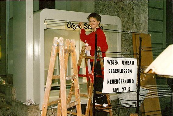 Schuh Vögel Umbau 1987