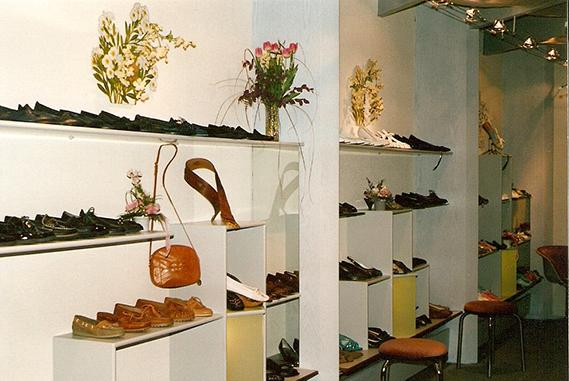 Schuh Vögel Innenansicht 1987
