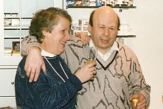 Gruppenfoto Schuh Vögel 1987