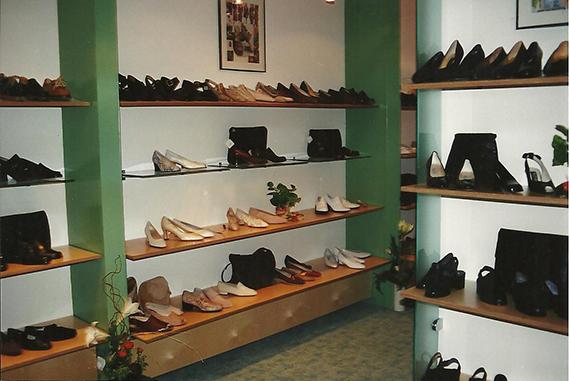 Schuh Vögel Innenansicht 1996