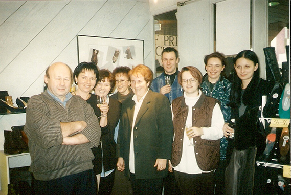 Gruppenfoto Schuh Vögel 1996