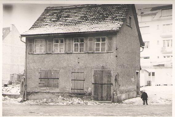 Schuh Vögel Jahnstrasse 1930