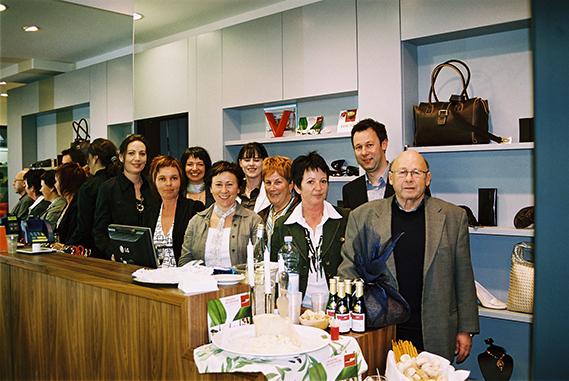 Gruppenfoto Schuh Vögel Eröffnung 2007