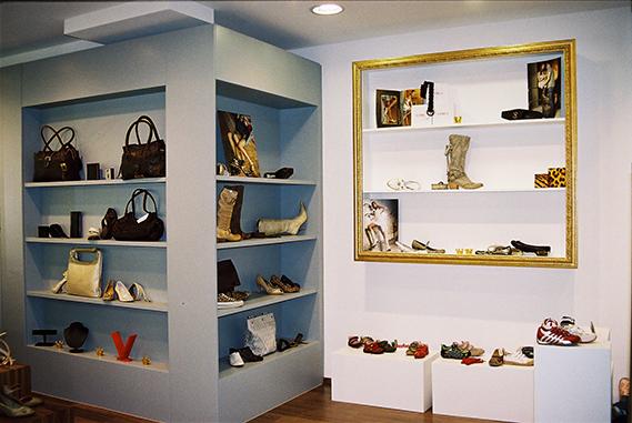 Schuh Vögel Innenansicht 2007