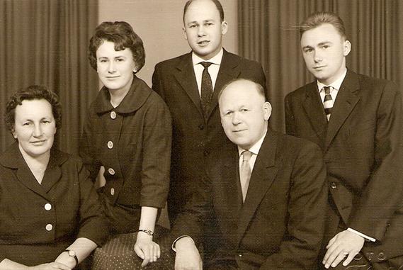 Gruppenfoto Schuh Vögel 1973