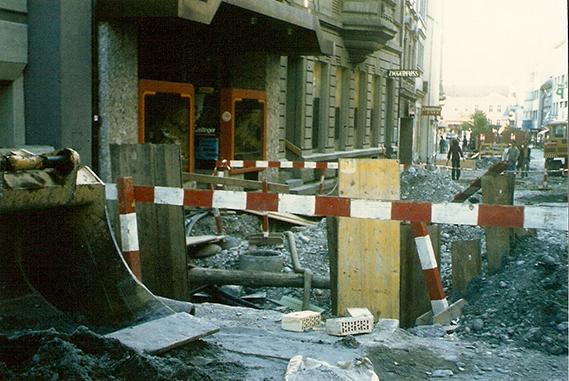 Schuh Vögel Umbau 1973