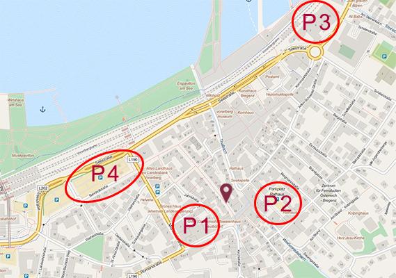 Schuh Vögel Plan Parkplätze