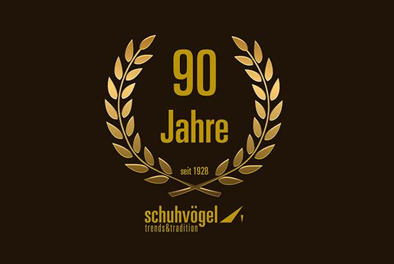 Schuh Vögel 90 Jahre Firmenjubiläum
